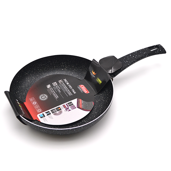 Aluminium Coated 28cm Frying Pan in Granite