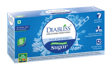 Diabliss Herbal Low Gi Cane Sugar Packets (40*5G)