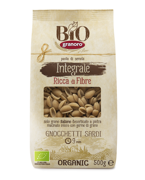 Organic Whole Wheat Gnocchetti (500G)