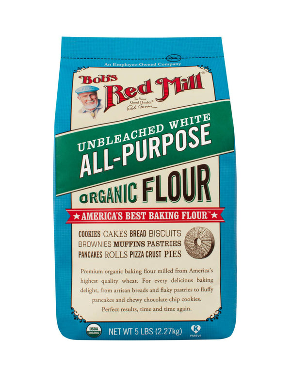 Organic Unbleached All Purpose Flour (2.27kG)