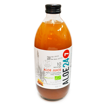 Aloe 24/7 Cinnamon & Honey (500 ML)
