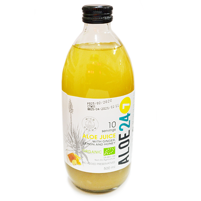 Aloe 24/7 lemon, Ginger & Honey (500 ML)