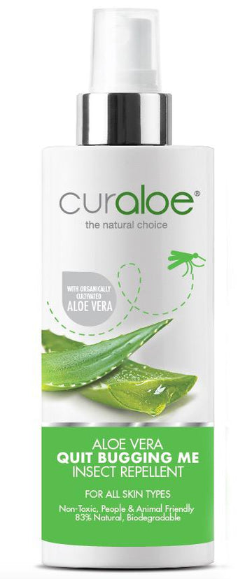 Aloe Vera Quit Bugging Me Insect Repellent (125ML)
