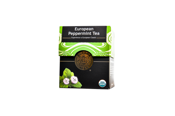 Organic European Peppermint Tea (23G)