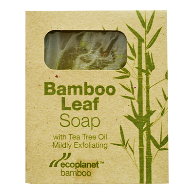 Bamboo Leaf Soap with Tea Tree Oil