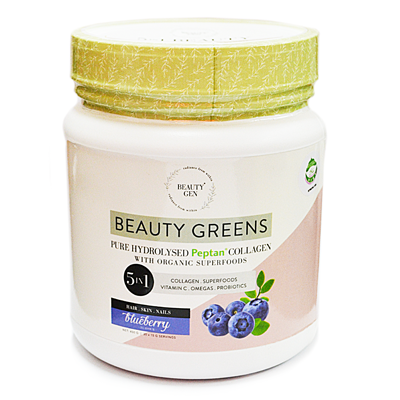 Greens  Blueberry Collagen (450G)