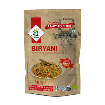 Organic Biryani(Ready To Cook) (200G)