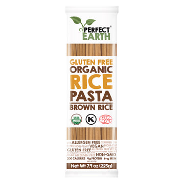Organic Rice Pasta Brown Gluten Free (225G)