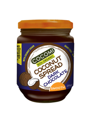 Organic Coconut Spread - Dark Chocolate (230G)