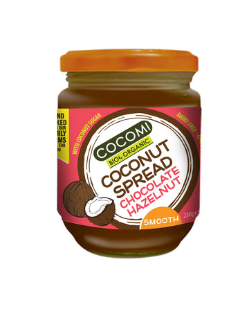 Organic Coconut Spread - Chocolate Hazelnut (230G)