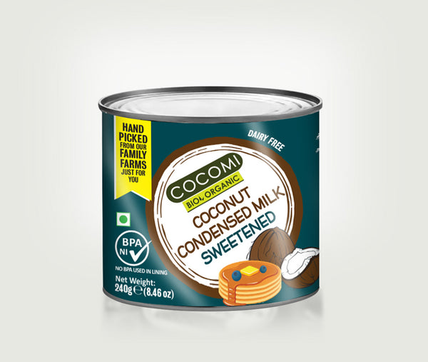 Organic Sweetened Condensed Coconut Milk (240G)