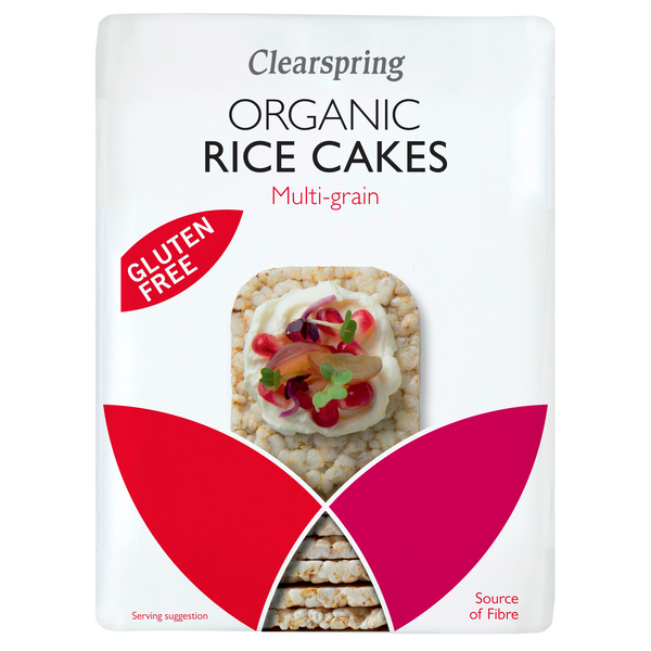 Organic Rice Cakes - Lightly Salted (130G)