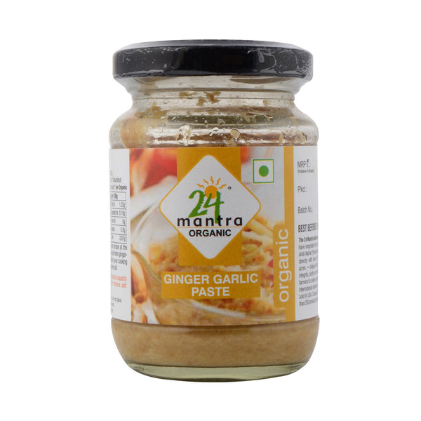 Organic Ginger Garlic Paste   (283G)