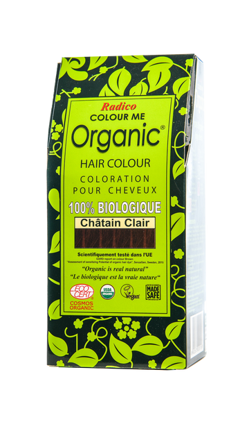 Organic Hair Colour Light Brown (100G)