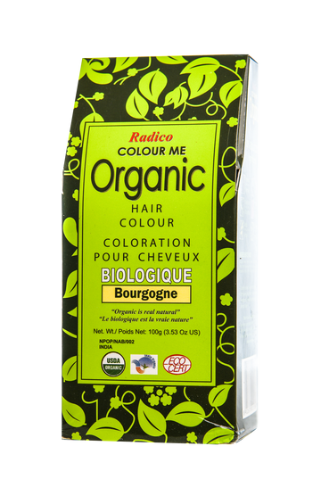 Organic Hair Colour Burgundy (100G)