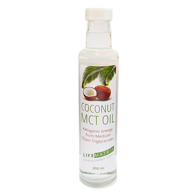 Pure Coconut MCT Oil (250ML)