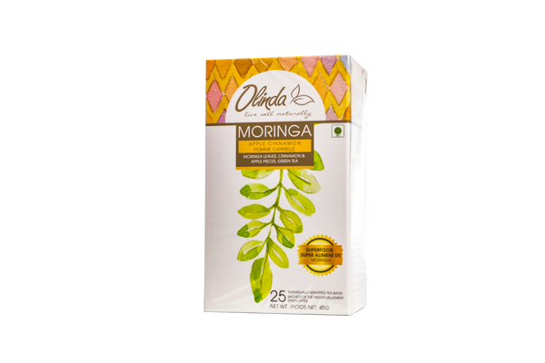 Moringa Apple Cinnamon (25 Tea Bags)