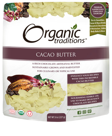 Organic Cacao Butter (227G)