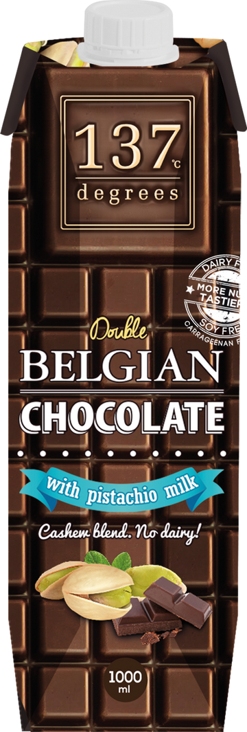 Double Belgian Chocolate With Pistachio Milk (1000ML)