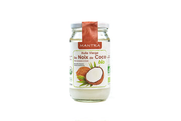 Organic Coconut Oil (Glass Jar) (320ML)