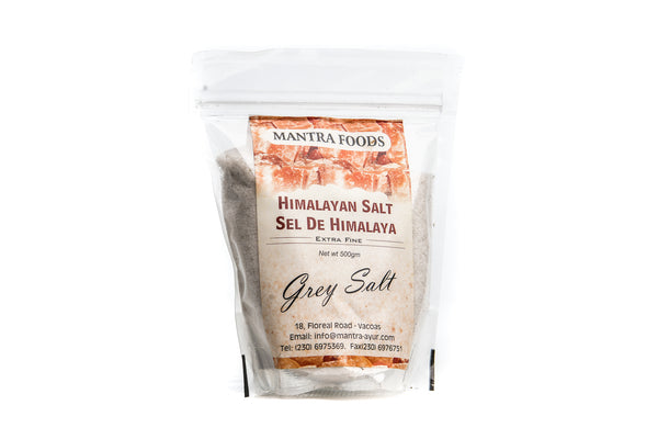 Himalayan Rock Salt - Grey (Extra Fine) (500G)