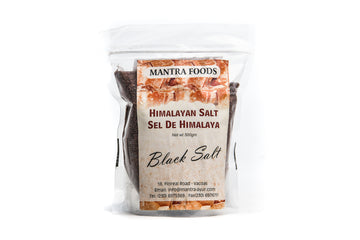 Himalayan Rock Salt - Black  (Fine) (500G)