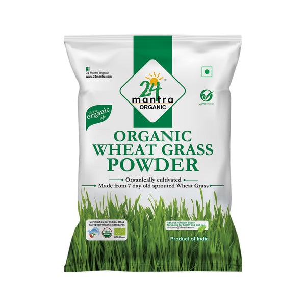 Organic Wheatgrass Powder  (100G)