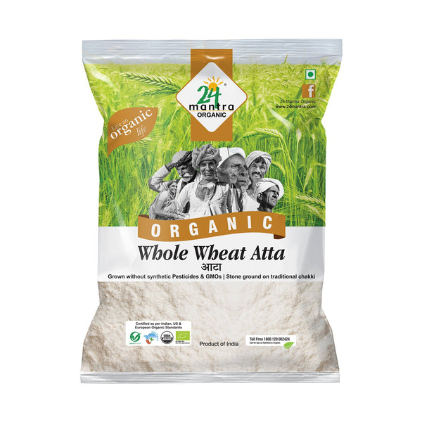 Organic Whole Wheat Atta   (5 KG)