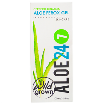 Organic Aloe Gel 24/7 (100 ML)