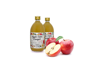 Organic Raw Unfiltered Apple Cider Vinegar With Mother (500ML)