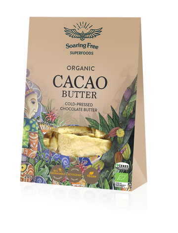 Organic Raw Cacao Butter (200G)
