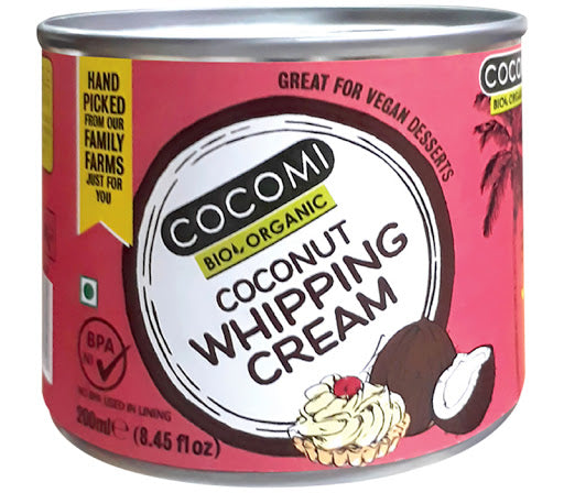 Organic Coconut Whipping Cream (200G)