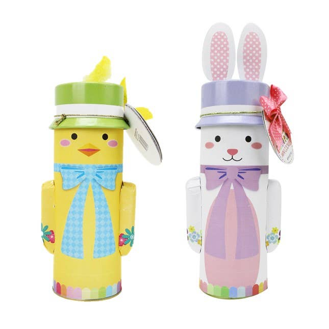 Character Easter Tins with Cookies