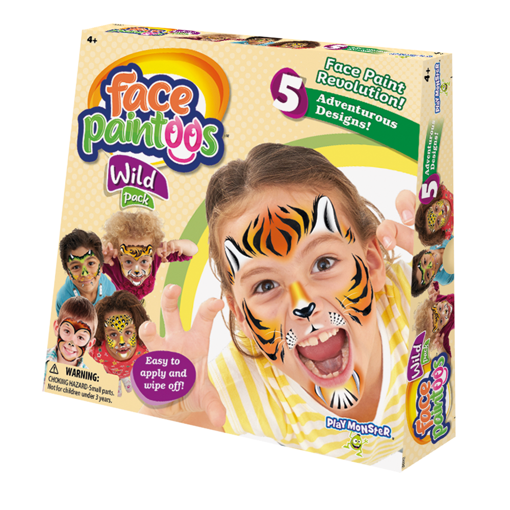 Face Paintoos--Wild Pack