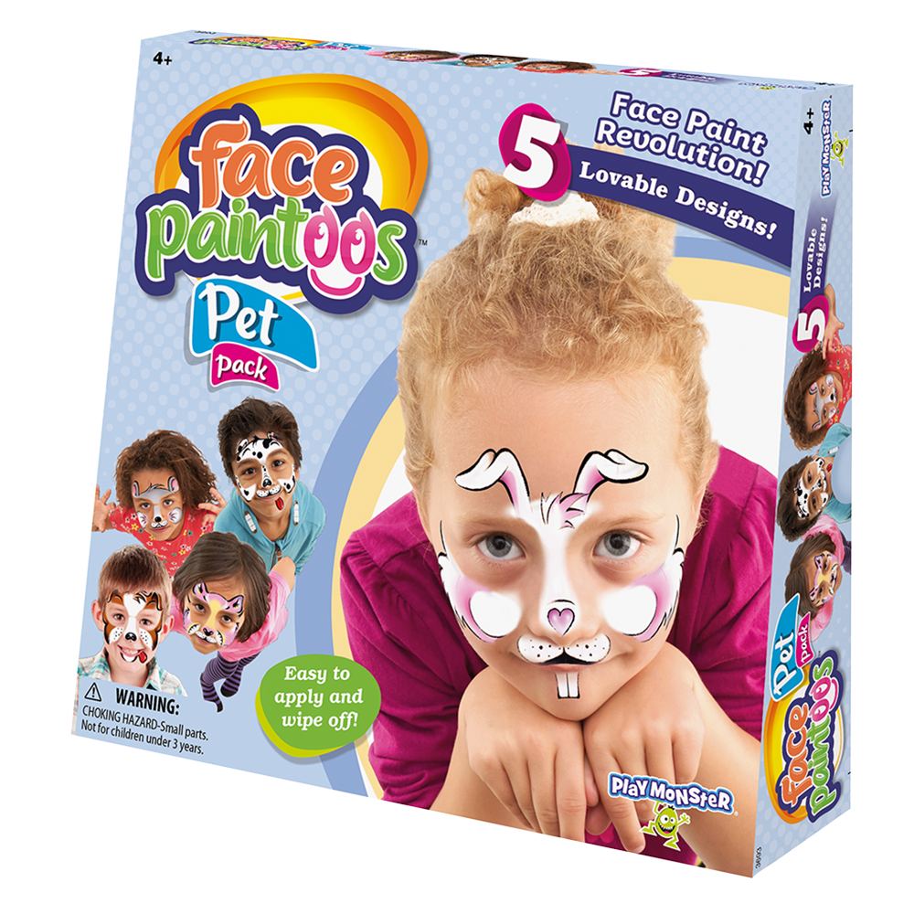 Face Paintoos--Pet Pack