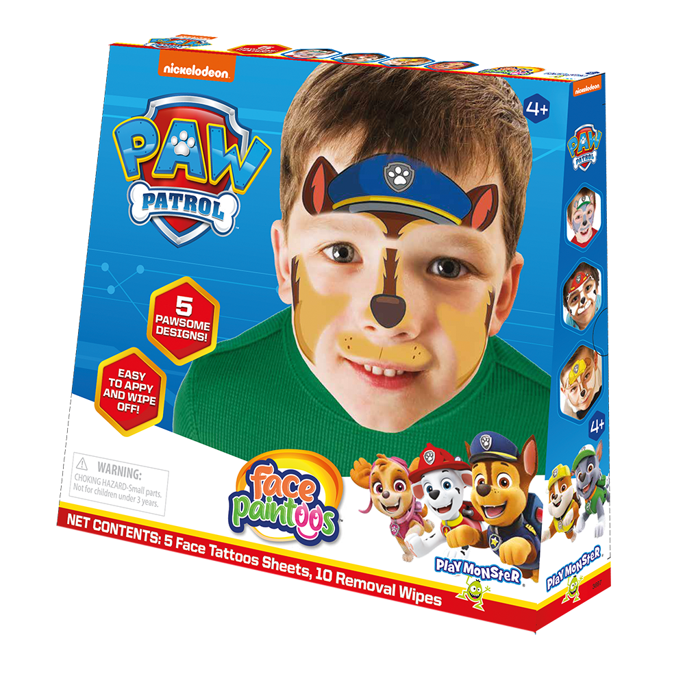 Face Paintoos--Paw Patrol
