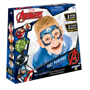 Marvel Avengers Face Paintoos