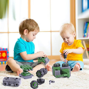 Take-A-Part Army Toy Trucks - Series 2