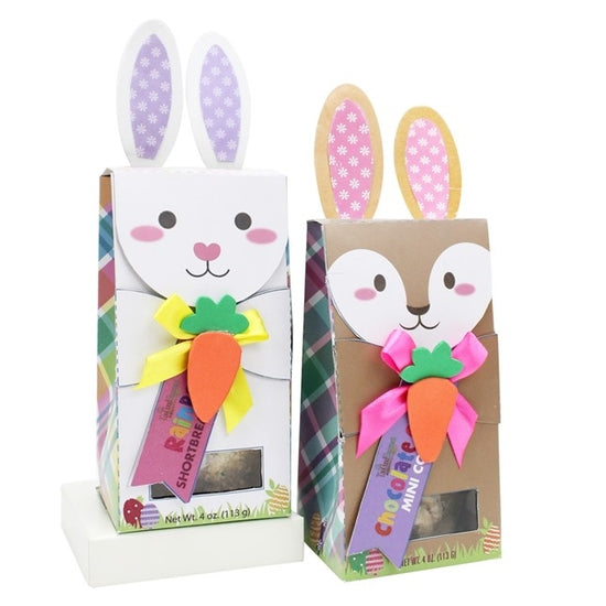 Bunny Boxes with Cookies