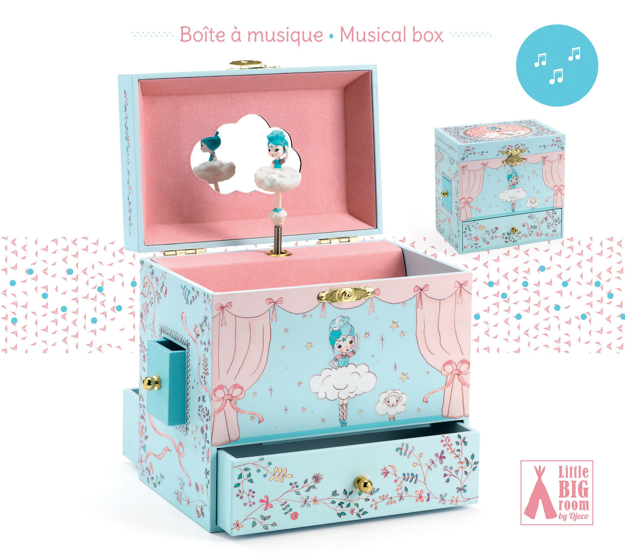 Treasure Box - Ballerina on Stage