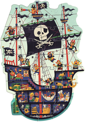 Giant Floor Pirate Ship Puzzle