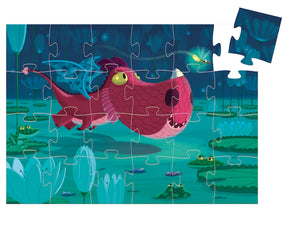 Edmond the Dragon - Silhouette Puzzle