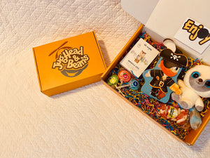 "Personalized ""Beanie Box"" with Message"
