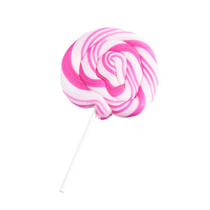 Artisan Hand Pulled Lollipop--Strawberry