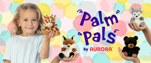 "Aurora Palm Pals - 5"" Unicorn"