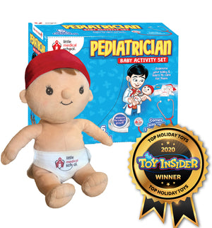 Little Medical School - Pediatrician Baby Activity Set