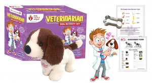 Little Medical School - Veterinarian Dog Activity Set