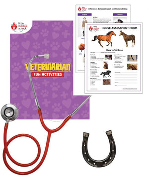 Little Medical School - Veterinarian Horse Activity Kit