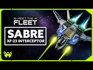 Snap Ships - Sabre XF-23 Interceptor