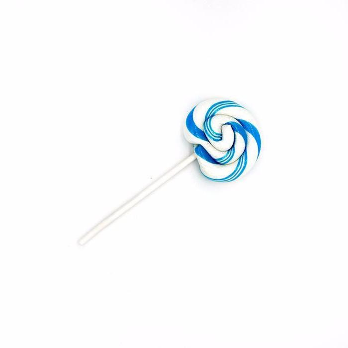Artisan Hand Pulled Lollipop--Blueberry